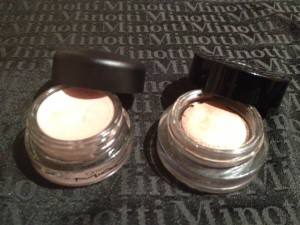 Chanel illusion d'ombre e mac pro longwear paint pot