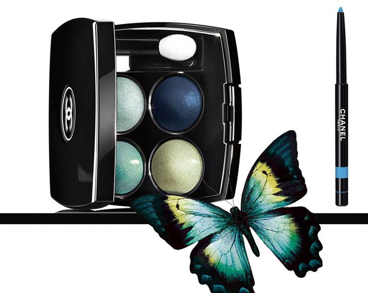 Chanel l'ete papillon les 4 ombres e stylo yeux waterproof