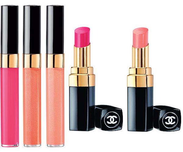 Chanel summer collection 2013 Rouge Coco shine e gloss levres scintillantes
