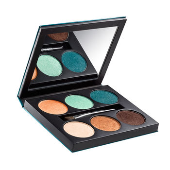 Lancome Aquatic summer color collection 2013 color design 6pan palette