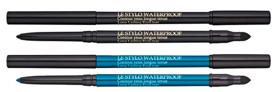 Lancome Aquatic summer color collection 2013 le stylo waterproof