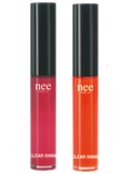 Nee Make-up Milano double exposure clear shine gloss