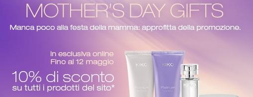 Kiko offerta sconto make-up festa della mamma