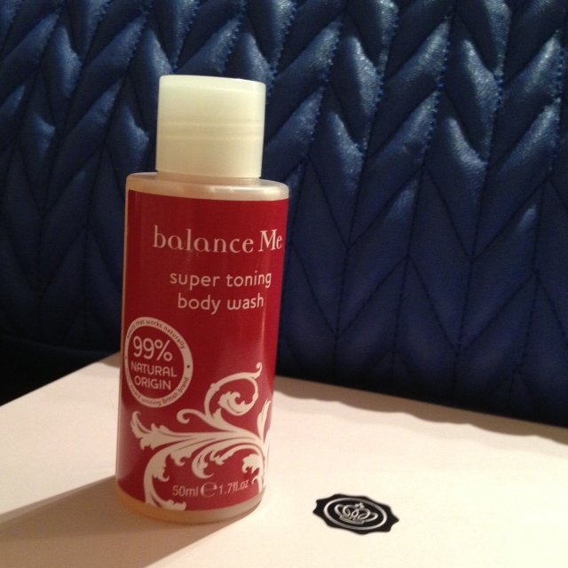 Glossybox Maggio 2013 balanceme toning body wash