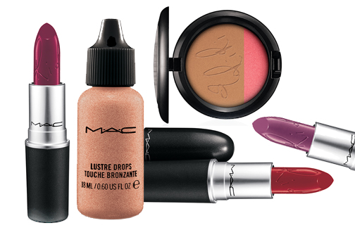 MAC Limited edition RiRi hearts make-up