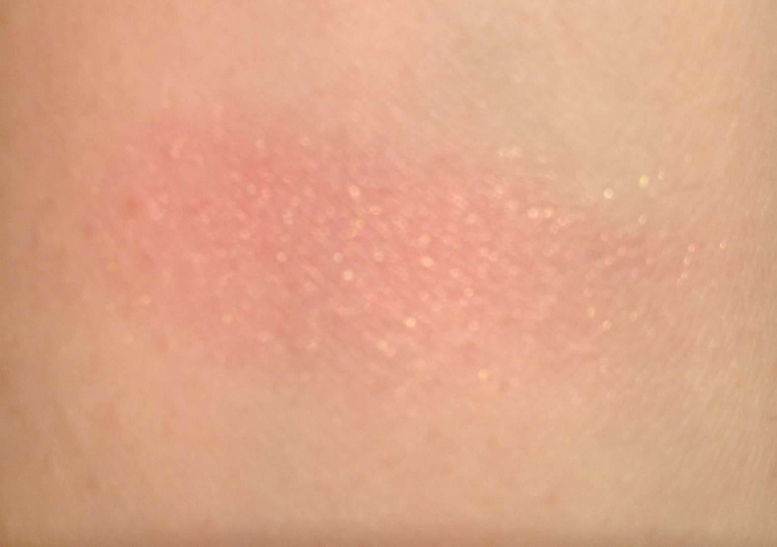 Swatch blush orgasm nars