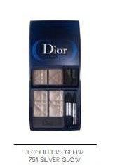 Dior Mystic Metallic autunno 2013 eyeshadow palette Silver Glow