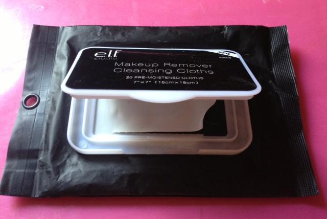 salviette struccanti Elf linea studio makeup remover cleansing cloths