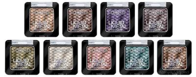 nuovi prodotti makeup catrice autunno inverno 2013 liquid metal eyeshadow