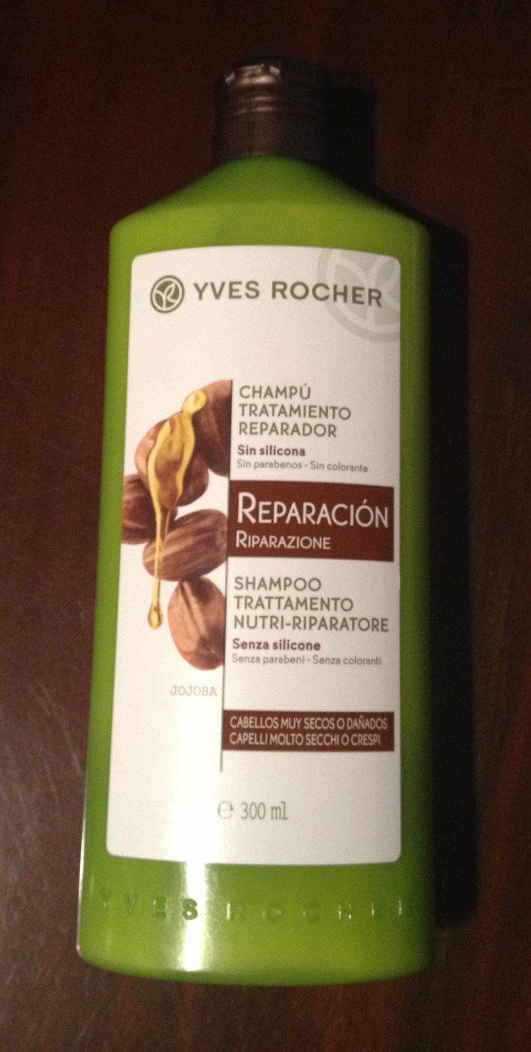 Yves Rocher shampoo trattamento nutri riparatore