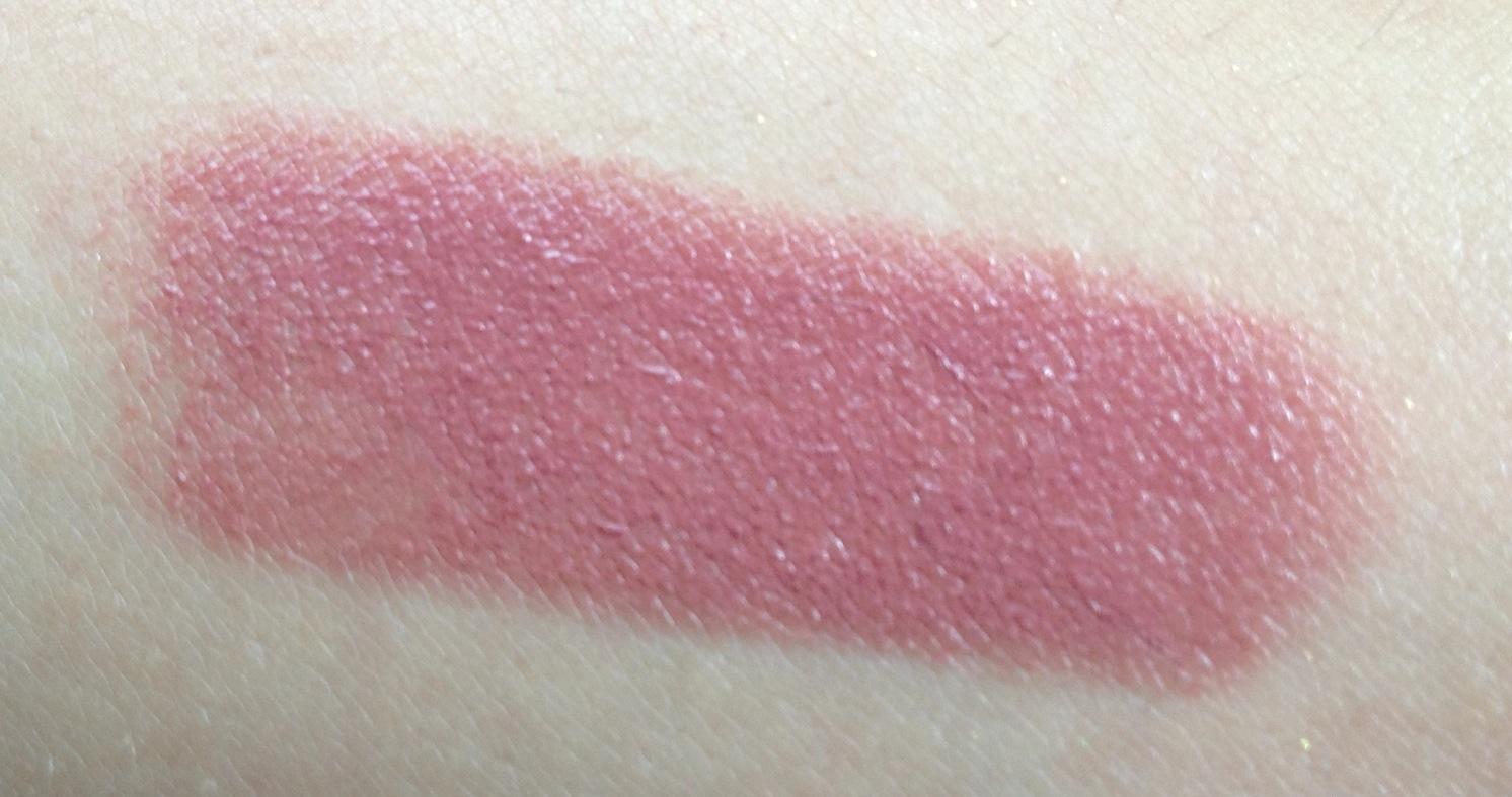 swatch lip duo dusk lipstick modelco