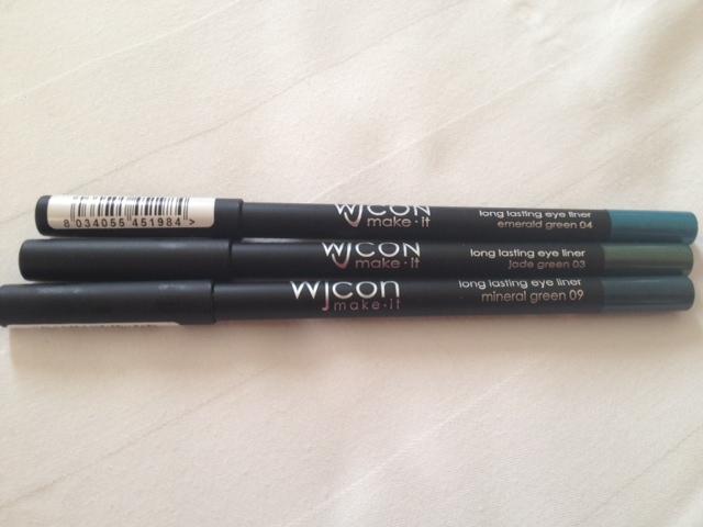 haul nuovi acquisti makeup wjcon matite occhi long lasting eyeliner