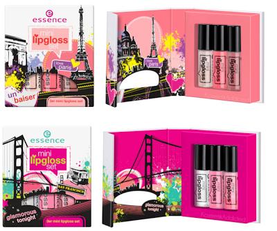 nuovi prodotti essence autunno 2013 mini lipgloss set