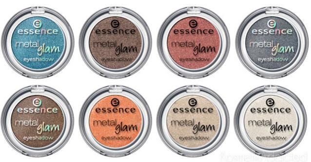 nuovi prodotti essence autunno 2013 ombretti metal glam