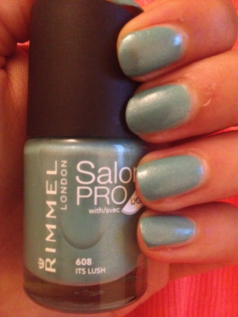 smalto rimmel salon pro 608 its lush