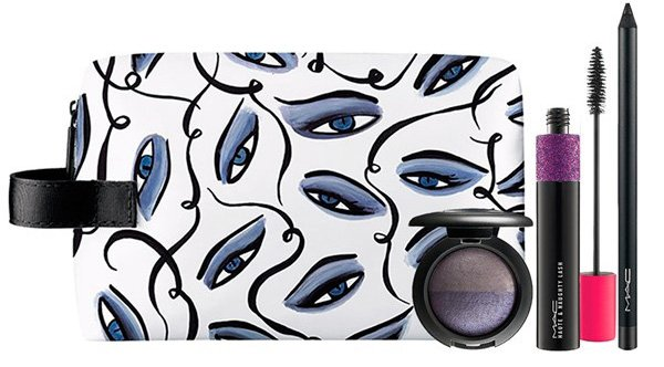 Mac Illustrated Collection By Rebecca Moses Sultry Eye Bag