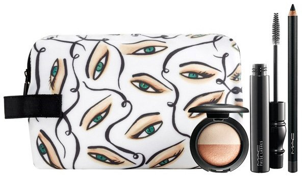 Mac Illustrated Collection By Rebecca Moses Smoldering Eye Bag