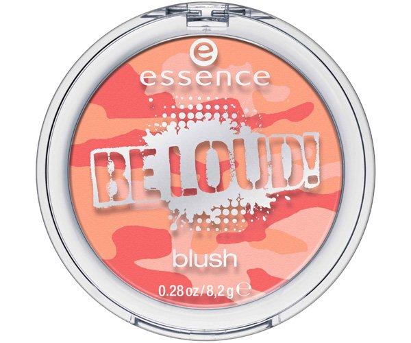ollezione make-up Essence autunno 2013 Be Loud! multicolor blush apricot