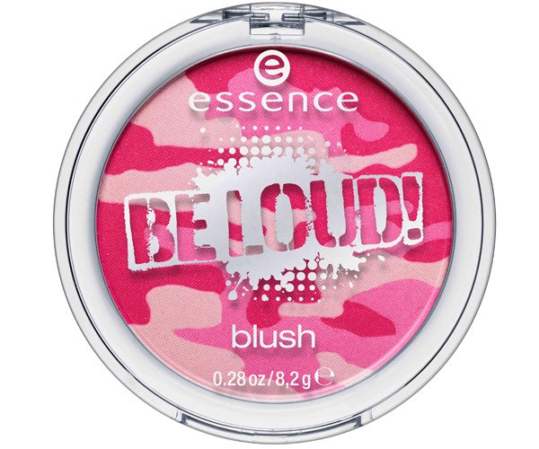 ollezione make-up Essence autunno 2013 Be Loud! multicolor blush pink me