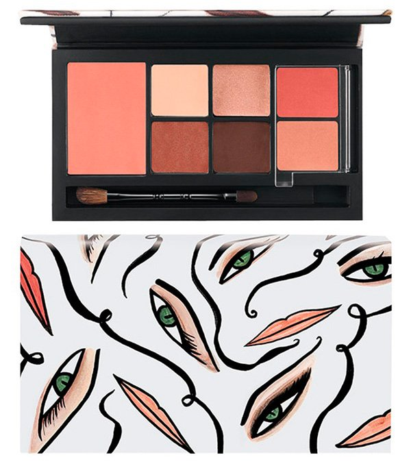 Mac Illustrated Collection By Rebecca Moses Brown Face Kit