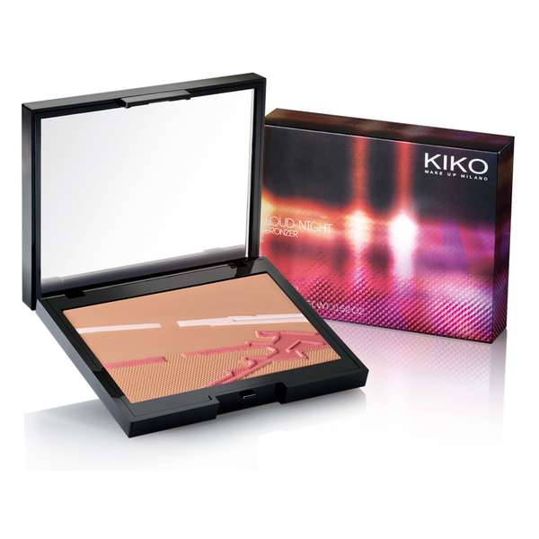 kiko autunno 2013 dark heroine loud night bronzer