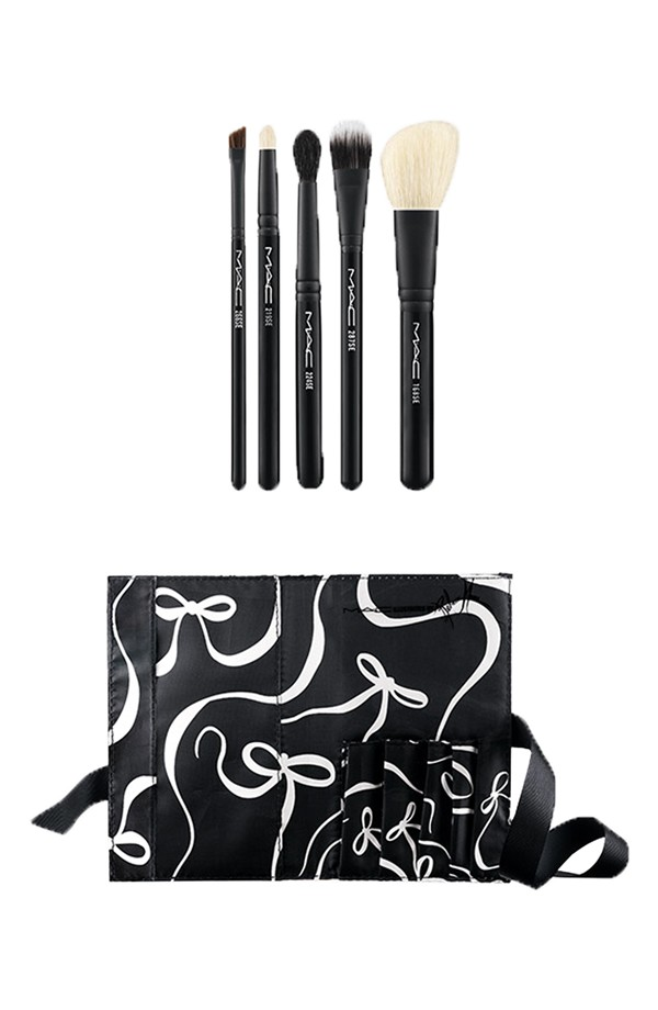 Mac Illustrated Collection By Rebecca Moses All Over Brush Kit