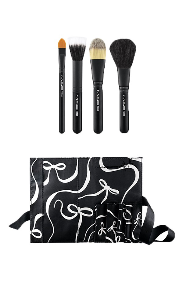 Mac Illustrated Collection By Rebecca Moses Face Brush Kit