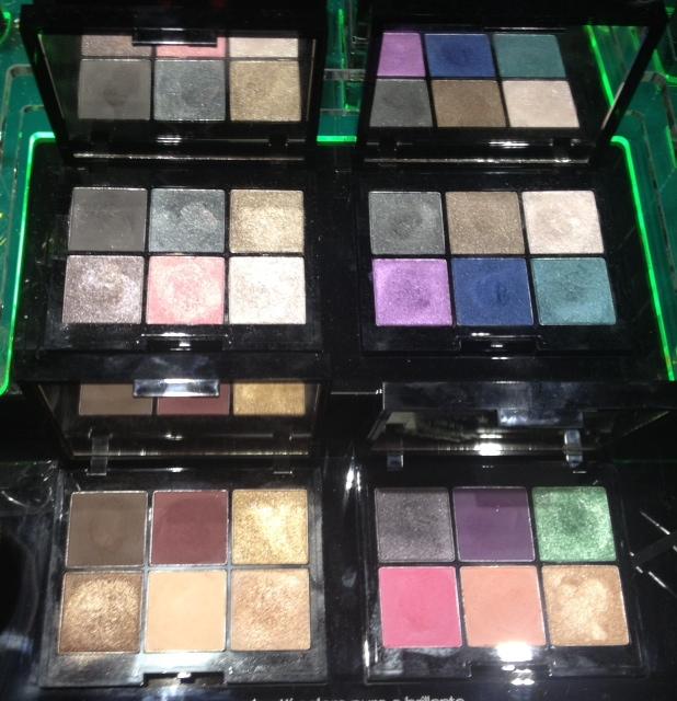 kiko autunno 2013 dark heroine colour impact eyeshadow palette