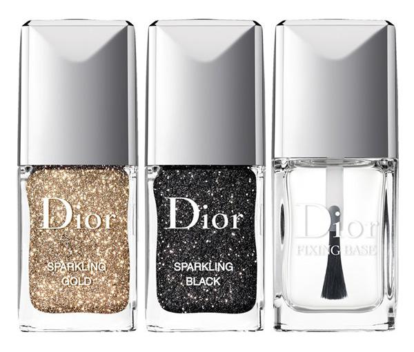Dior nail sparkling powders