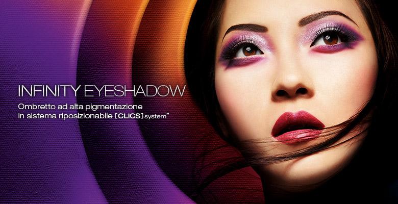palette kiko eyes clics e infinity eyeshadow