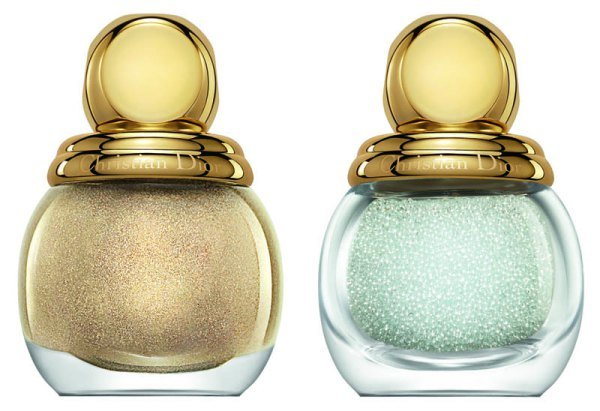 Dior Golden Winter Diorific Duo Nails