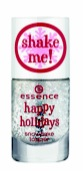 Essence Happy Holidays Snow Flake Topper