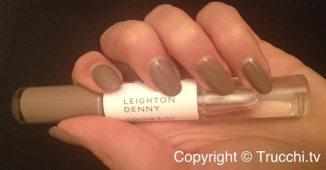 smalto Leighton Denny colour and go manicure pen Supermodel 1