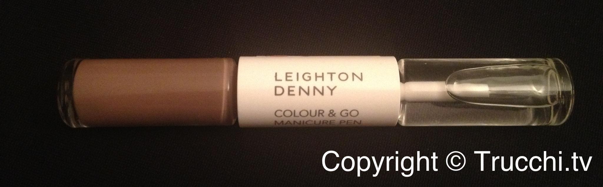 smalto Leighton Denny colour and go manicure pen Supermodel