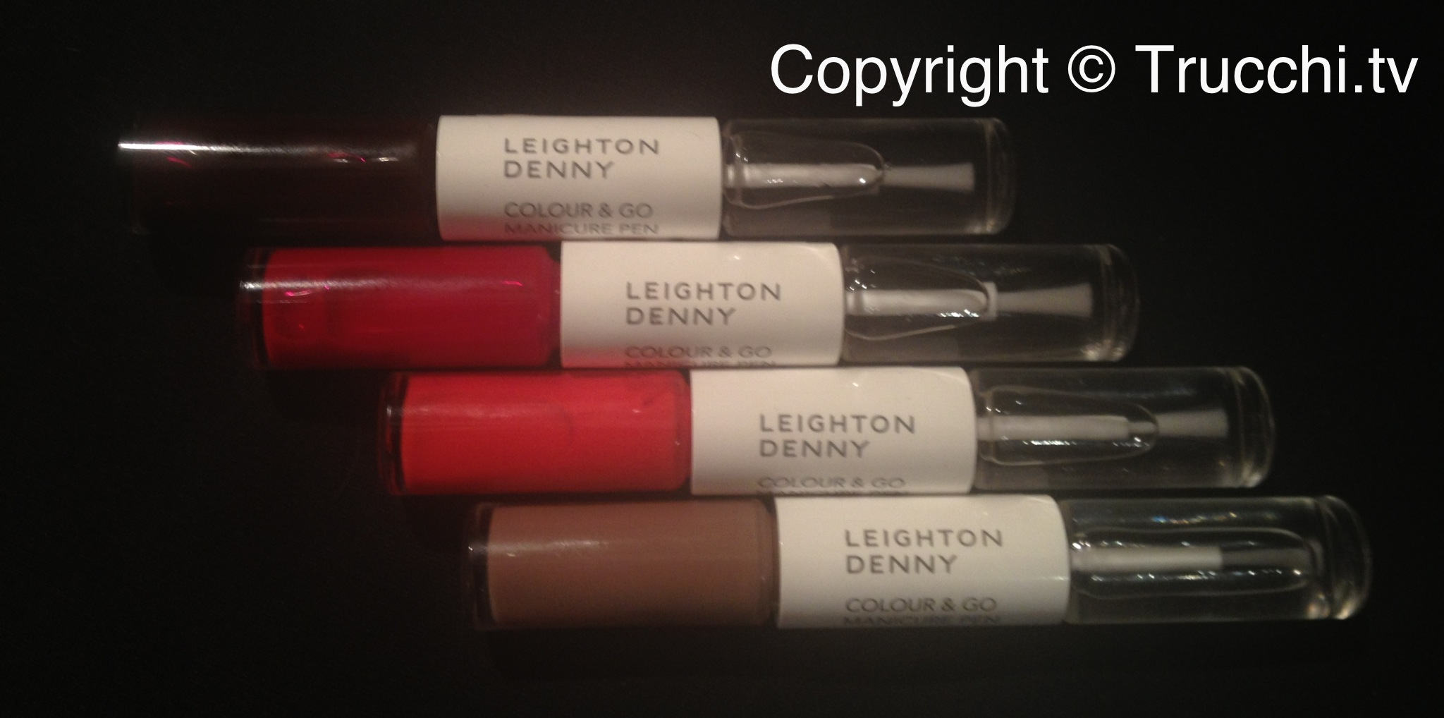 smalto Leighton Denny colour and go manicure pen