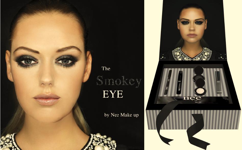 cofanetto make-up natale the smoky eye box nee make-up