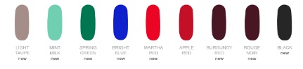 smalto adesivo kiko Ready-To-Go Colour Patch Nail Lacquer