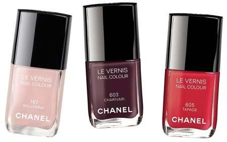 "Chanel ""Notes du Printemps"" Spring 2014 Le Vernis smalti"