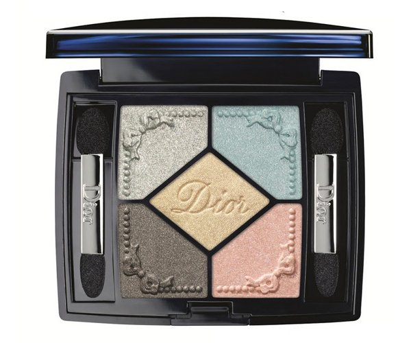 dior makeup spring 2014 trianon eyeshadow palette 5 couleurs 1