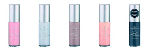 essence trend edition love letters nail polish
