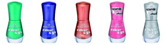essence color & go nail polish