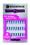 essence frame4fame single lashes