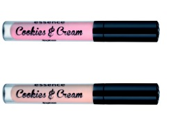 essence trend edition cookies and cream lipgloss