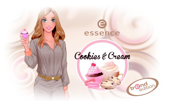 essence trend edition cookies and cream