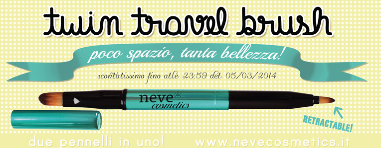 neve cosmetics travel twin brush