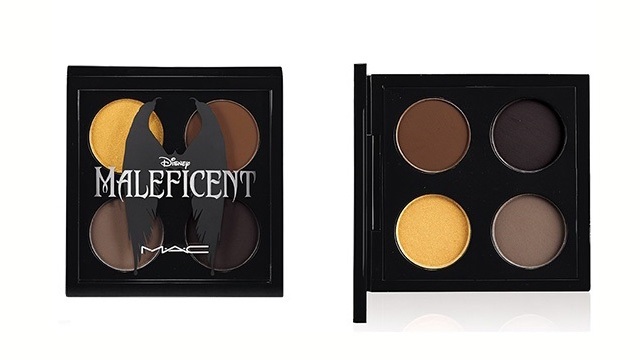 mac maleficent estate 2014 eyeshadow palette