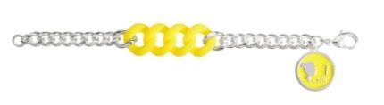 Be Chic Summer 2014 Shocking Bracelet Juicy Yellow