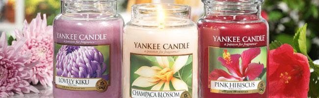 idee regalo festa della mamma - Candele Profumate yenkee Candle primavera 2014