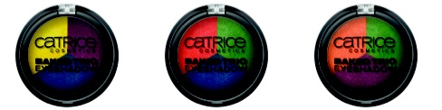 "Catrice ""Carnival of Colours"" Baked Trio Eyeshadow"