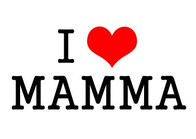 festa della mamma - i love mamma
